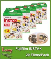 Wholesale Fujifilm INSTAX Mini Instant Film Twin Pack sheets For Polaroid Instant Camera Mini S s with Retail Package