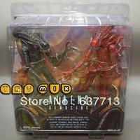 Wholesale 1 set set cm inch NECA Pack Aliens Genocide Xenomorph Warrior Action Figure retail