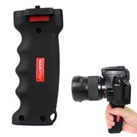 Wholesale 2016 DHL Camera Handle Grip Wide Platform Pistol Grip for Canon Nikon Sony SLR DSLR DC Cameras