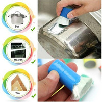 best cooking pots - Best Magic Stainless Steel Kitchen Metal Rust Remover Cleaning Detergent Stick Wash Brush Pot Kitchen Cooking Cleaning Tools