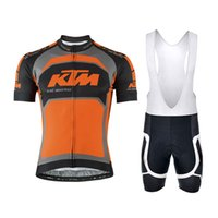 007 - 2016 Hot Selling KTM Team Cycling Jersey Professional Bike Cycle Clothing Outdoor Sport Jerseys Maillot Ciclismo