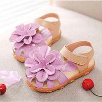 Wholesale Girl Shoes Beach Sandals Flower Princess Shoes Kids Footwear Girls Sandals Summer Sandals Baby Shoes Children Sandals Lovekiss C23728