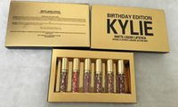aa birthday gifts - Kylie Birthday Edition birthday gifts lip gloss enamel package one box DHL aa