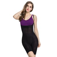 body shaping - Open Bust Mid Thigh Bodysuit Sexy Women Body Slimming Shaper Control Postpartum Panties Shaping Control Pants S XL Slimplicity Shaping Suit