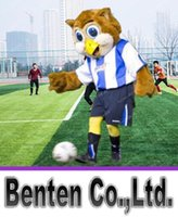 barneys suits - Barney owl Mascot Costume Animal Character Sport Team Mascot Suit Fancy Dress Adult Size LLFA9032