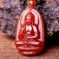 amitabha buddha - Natural onyx amitabha this Buddha pendant Chinese zodiac is dog pig patron saint