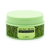 bean nutrition - LAIKOU Nutrition Deep Clean Mung Bean Mask Face Mask Cream Essence Moisturizing Oil Control Anti Aging Cream Anti Wrinkle Cream