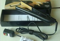 Cheap 1pc lot Top seller Classical BLACK Ceramic Hairstyling Flat Iron with Retail Box hair straightener Free CHI&Fast shipping