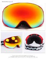 Wholesale Benice brand Professional ski goggles Fashion Snowboarding Glasses snow UV Protection Multi Color double anti fog lens Snowboard Goggle