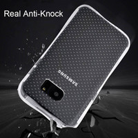 airs phone covers - For Samsung Galaxy S7 S7 edge S6 S6 edge Note5 Phone Case TPU Cover Anti knock Air Cushion Airbag Mobile Case Accessories