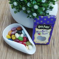 Wholesale 34g Sweet Candies Bean Strange Taste Food Snack Harry Potter Jelly Beans Candy Bean Boozled Christmas Gift