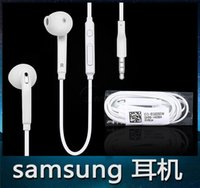 Wholesale 3 mm In Ear Earphones High Quality Headphones With Mic and Volume Control Earphone for Samsung S6