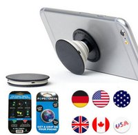 Wholesale 2016 New Finger Holder with Anti fall Phone Smartphone Desk stand Grip Pop Socket Mount For iphone7 s Samsung Xiaomi PopSockets