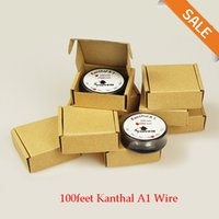 Wholesale Kanthal A1 Wire VOPE WIRE Resistance Wire Fast heating Coil feet AWG Gauge Wire DIY for RebuildableRDA