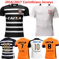 anti love - 2016 camisa corinthianss Soccer Jersey Pato Football Shirts Elias Gil Malcom Jadson Vagner Love Home White Morbi Jerseys Top Quality