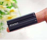 Wholesale Alisten X20 mini voice recorder voice recording MP3 player U disk in built in gb long distance record noise reduce