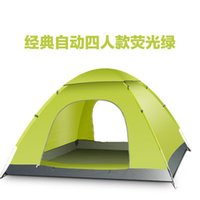 Wholesale 2016 Top Quality Single layer person rainproof outdoor portable camping tent for hiking fishing hunting picnic party wigwam