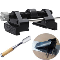 angle grinding machine - 2016 New Arrival Fixed angle Knife Chisel Spatula Sharpener Tool Woodworking Hand pushing Grinding Machine Support lt no trackin
