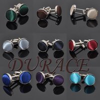 Wholesale Men s Cufflinks Fashion Jewelry Cloth Metal Buckle For Men Cuff Links Style Colors