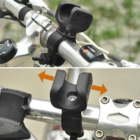 Wholesale 360 Degree Swivel Bicycle Bike Mount Holder Clip Clamp for Flashlight Torch F00083 CADR