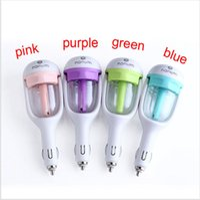 Wholesale Fashionable V Auto Mini Car Humidifier Nanum Car Air Humidifier Portable Water Bottle Steam USB Humidifier