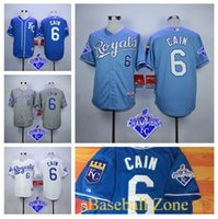 arrival cities - New Arrival Stitched Men s Kansas City Royals Baseball Jersey Lorenzo Cain Jersey W World Series For Champions Patch