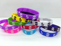 Wholesale Poke Bracelets Pocket Monster colors silicone wristband Soft Silicone Wrist Straps Kids Children Anime Gifts