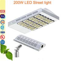 Wholesale 200W LED Street Light walkway garden lamp led road light match a pole adapter years warranty