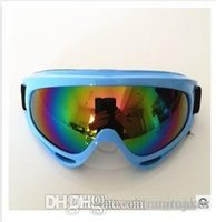 Wholesale X400 UV Protection Outdoor Sports Ski Snowboard Skate Goggles Motorcycle Off Road Cycling Goggle Glasses Eyewear Lens