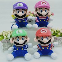 better quality video - Super Mario Brothers plush toys anime cm super soft animal dolls better quality