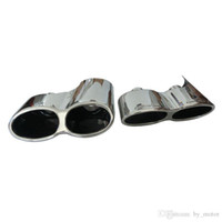 Wholesale W221 S550 S63 S65 AM G Exhaust pipe Muffler Tips Tip pair For Mercedes Benz