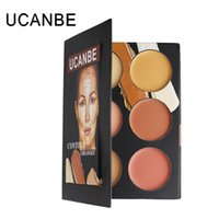 Wholesale Cosmetics UCANBE CONTOUR CREAM KIT Colors Dark circles Concealer Douyin Lips Bottoming Cream Makeup Professional Brand End yc