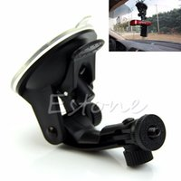 Cheap Wholesale-Free shipping Suction Cup Mount Holder Flexible Tripod For DV Camera Car Windows Glass Stand