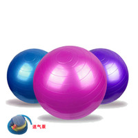 Wholesale New Yoga Balls Health Yoga Fitness Ball cm Anti Burst Pilates Balance Sport Fitball Thickened Explosion Proof Balls