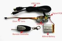 Wholesale MATECam HD P DIY Lens Black Remote Controller Micro DVR Hidden Spy Camera mm Lens Mini Camera Lens
