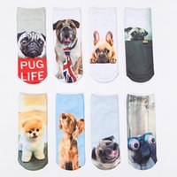 ankle socks manufacturers - 2016 Foreign Trade Series d Printing Personalized Dog Animal Print Socks Boat Socks Socks Manufacturers