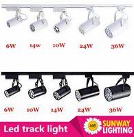 Wholesale Hot sale W W W W W Led Track Lights Angle Warm Natural Cool White Led Ceiling Spot Lights AC85 V CE ROHS UL
