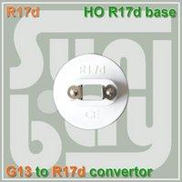 Wholesale HO Fluorescent Lamp Holder R17 Cap Socket for bulb G13 bases TO R17D converter