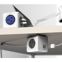 Wholesale PowerCube USB extended smart socket travel artifact USB cube mode socket socket