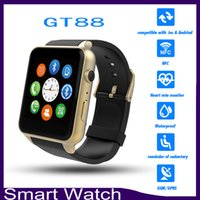 Etanche GT88 Bluetooth montre Smart Watch Phone Mate NFC fréquence cardiaque pour iPhone Android Samsung 6500021