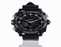 Full HD 1080p 8 Go de vision nocturne étanche Spy Watch Camera DV W1000 12MP caméra cachée Watch Video Recorder