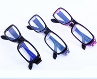 amber computer glasses - New Fashion Anti radiation Computer Glasses Vintage Zero power Lens Oculos Plain Glass Spectacles Sunglass Men Women Unisex Oculos AC011