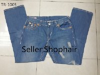 true religions jeans - True Classic Mens Casual Jeans Denim Straight Man Pants Cheap Ripped Clothes Jeans Boy Homme Men Religions Modern Trousers