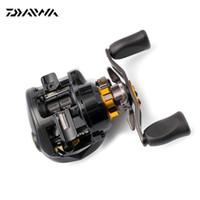 Wholesale 100 Original DAIWA Brand MORETHAN PE SV R TW RIGHT Hand Baitcasting Fishing Reel BB g Max Drag kg Baitcasting