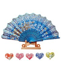 adult accesories - New Chinese dance fan Ladies folding hand fans Bridal accesories colors available Drop shipping Hot sale