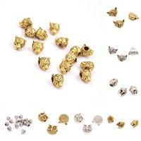 Wholesale DIY Bracelet Accessories Gold Leopard Head Silver Helmet Fox Owl Head Elephant Jewelry Accessory
