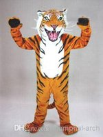 bengal cat tiger - professional custom bengal tiger cat mascot head costume suit halloween EMS
