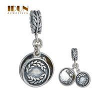 autumn leaves jewelry - Autumn Grain Acanthus Leaves Dangle Pendants Beads For Pandora Bracelets Sterling Silver Necklace Pendant Women Fine Jewelry S401