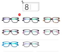 Wholesale 2016 Fashion Women Sunglasses Retro Big Box Plain Mirror Wild Sunglasses frame WQ