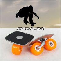 Wholesale Hot sell Portable Drift Board For Freeline Roller Road Driftboard Skates Anti skid Skate board Skateboard Sports